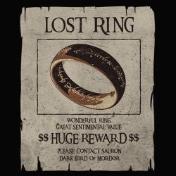 Le seigneur des anneaux perdus