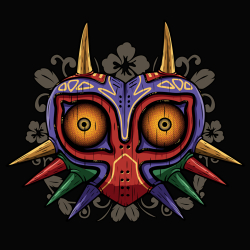 t-shirt Majora's Mask