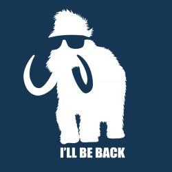 t-shirt Terminator le mammouth