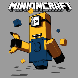 t-shirt Minecraft version Minion