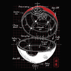 t-shirt Pokeball plan