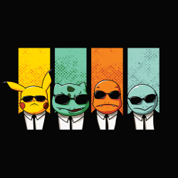 t-shirt Reservoir Pokemon