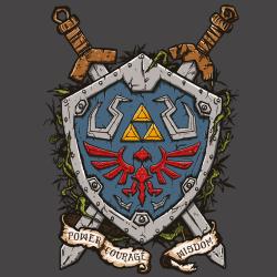 t-shirt The shield