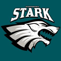 t-shirt Le loup Stark