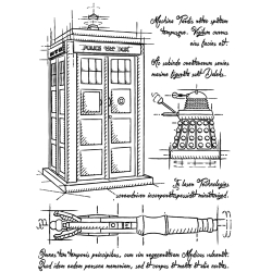 t-shirt Tardis Plan