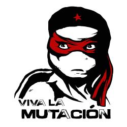 t-shirt Viva la mutación