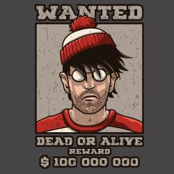 t-shirt Où est Charlie?